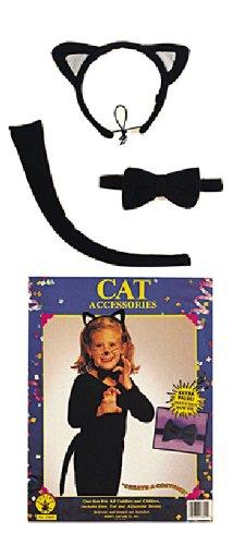 Karneval Zubehor Set Katze Zum Kinder Kostum An Fasching Halloween