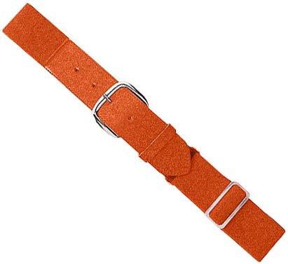 Orange Adult Baseball/Softball Adjustable Elastic Belt