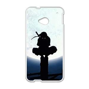 Naruto Cartoon Anime White HTC M7 case