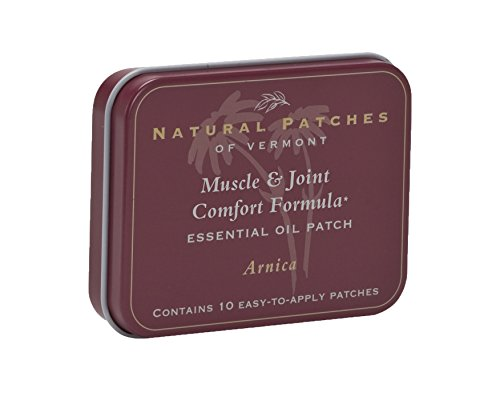 Natural Patches (Natural Patches Of Vermont Arnica Muscle & Joint Comfort Essential Oil Body Patch, 10-Count Tin)