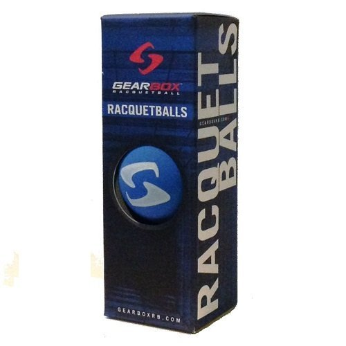 Gearbox Racquetball – 3 Ball Pack – Electric Blue – DiZiSports Store