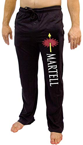 Game of Thrones House of Men's Pajama Pant Costume Adult Lounge Martell LG]()