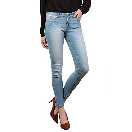 V&L - Pantalon Denim, Mujer, Color Denim, Talla 31