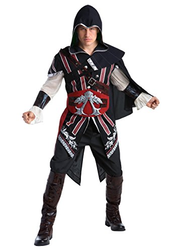 Assassin Ezio Costumes (Assassin's Creed: Ezio Deluxe Adult Costume L)