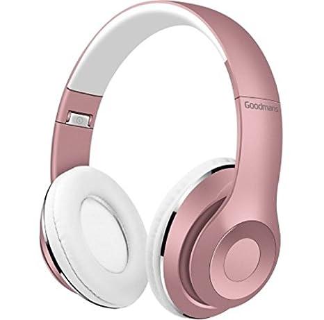 Goodmans - Auriculares inalámbricos compactos plegables, oro rosado de alta calidad: Amazon.es: Iluminación