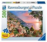 Ravensburger Positano Large Format 500 Piece Jigsaw Puzzle for Adults – Every Piece is Unique, Softclick Technology Means Pieces Fit Together Perfectly