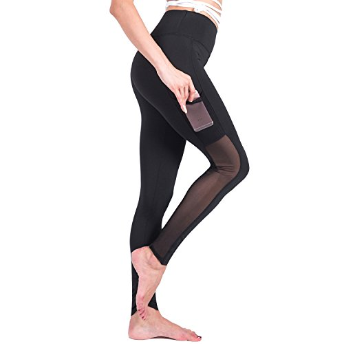 895b3d7396 RoxZoom Women's Activewear Capri Pants Yoga Leggings Running Tights Sports  Workout Leggings
