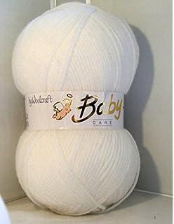 DK Double Knit Lemon 5 x 100g Woolcraft Babycare Baby Yarn Wool