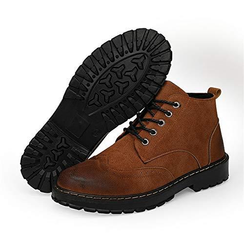 Da 38 Dimensione Uomo Grigio Eu Top Packed Confortevole Boots The Casual Color Marrone Martin E Stivaletti High qHf6dAqw