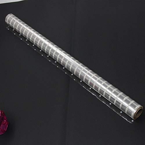 Cellophane Wrap Size 20m x58m White Dots cellophane Cello Film Design Clear Polypropylene Gift Basket Wrap Filler BOPP Film Roll