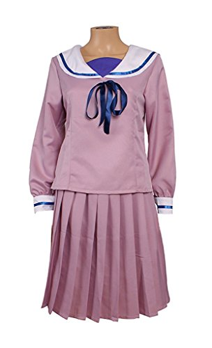 Mtxc Women's Noragami Cosplay Costume Iki Hiyori Junior High School Uniform Size Medium (Junior High Costumes)
