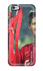 High Impact Dirt/shock Proof Case Cover For Iphone 6 Plus (steven Gerrard Liverpool)