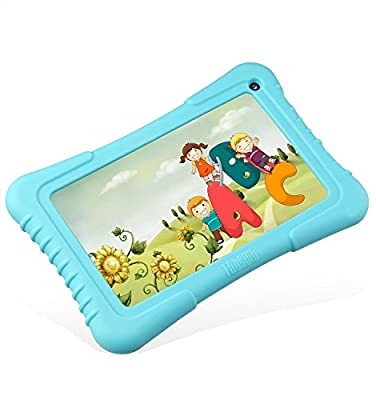 """Dragon Touch 7"""" Quad Core Android Kids Tablet, IPS Display, with Wifi and Camera and Games, HD Kids Edition w/ Zoodles Pre-Installed"""