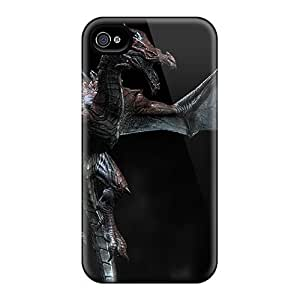 Awesome Design Skyrim Dragon Hard Case Cover For Iphone 4/4s