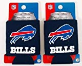 Cheap SET OF 2 BUFFALO BILLS NFL CAN KADDY KOOZIES