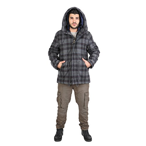 AFF - Parka Men's Hooded - AFD61CN-SCO