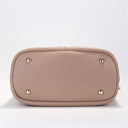 Yiwuhu Bag Retro Bucket Khaki Large Messenger Shoulder capacity Practical Bag Simple 66rqO