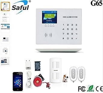 Sistema de alarma de seguridad GSM inalámbrico doméstico ...
