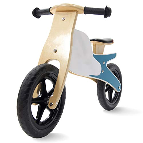 ZHAOSHUNLI Balance Bike Children's Balance Car Without Pedals Wooden Sliding Walker Positive and Negative Loading Stroller Bicycle Non-Metal