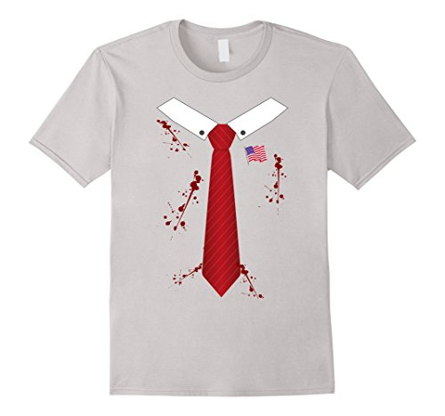 Bloody or Zombie President of USA Halloween Costume T-shirt