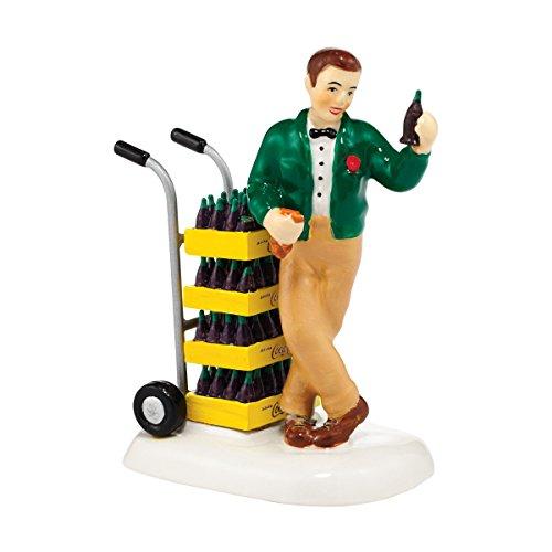 Department 56 Snow Village Coke Break Accessory Figurine, 2.76 inch