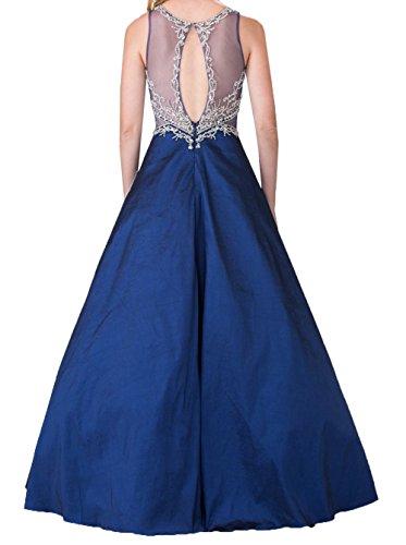 Brautmutterkleider Damen Festlichkleider Lila Charmant Langes Lila Linie A Promkleider Abschlussballkleider Spitze Abendkleider qfXHgOx