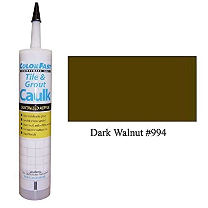 TEC Color Matched Caulk by Colorfast (Unsanded) (994 Dark Walnut)