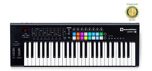 Novation Launchkey 49 MK2 49-key USB MIDI Controller with 1 Year Free Extended Warranty