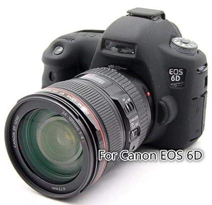 Funda de Silicona Carcasa de Silicona para cámara Canon EOS 6D ...