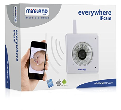 Miniland 89079 - Vigilabebés Miniland Everywhere (Cámara para conectar a la tablet y al smartphone): Amazon.es: Bebé