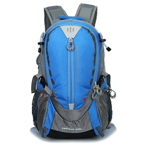 Rucksack Von ZAIYI Wasserdichte Outdoor-Klettertasche Schultern Weiblich Zu Männlich Sport Reiten Rucksack,G A
