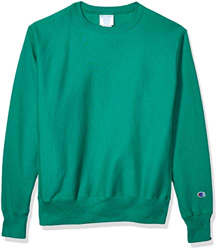 Champion LIFE Men's Reverse Weave Sweatshirt,kelly green,X SMALL