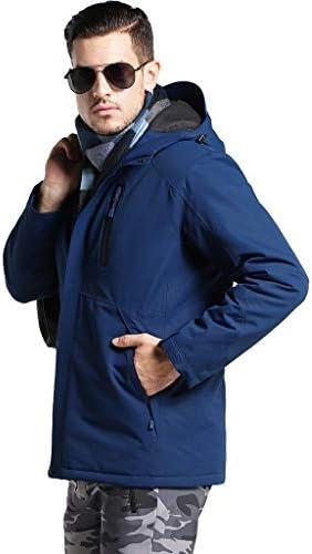 ZONGLIAN メンズ電熱服 フード付き 電熱ジャケット アウトドア 冬もぬくぬく メンズジャケットヒートジャケット 電熱 ウェア 速暖 極暖 電熱 バイク防寒 スキー 撥水 作業服 スキー スケート登山 釣り