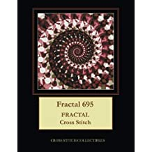 Fractal 695: Fractal Cross Stitch Pattern