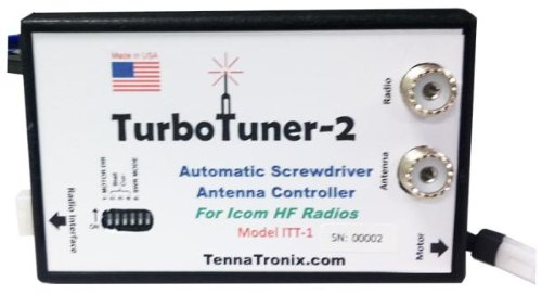 TennaTronix Turbo Tuner 2 Automatic Screwdriver Antenna Controller for Icom HF Radios