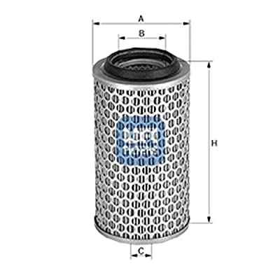 Ufi Filters 27.173.00 Air Filter: Automotive