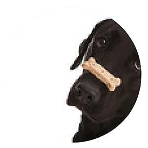 alfombrilla de ratón trucos para perros - ronda - 20cm