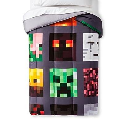 MineCraft Good vs Evil Comforter Twin