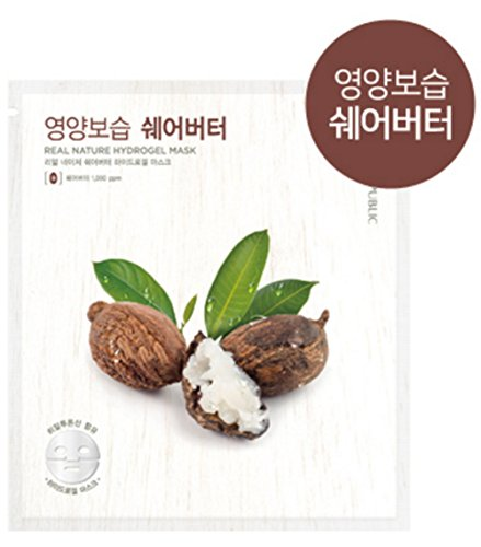NATURE REPUBLIC Real Nature Hydrogel Mask Shea Butter