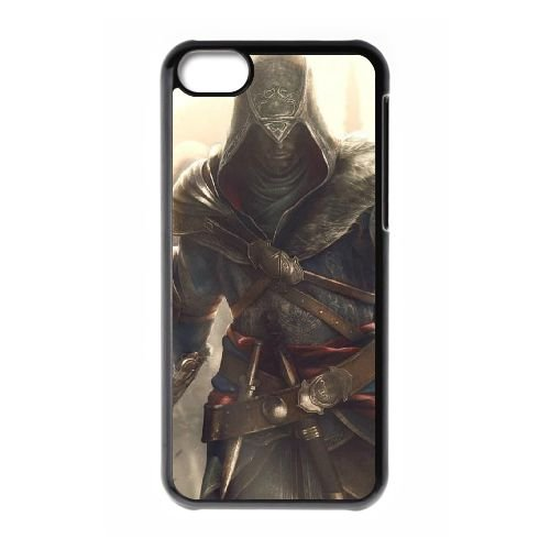 Ezio Auditore Da Firenze 017 coque iPhone 5C Housse téléphone Noir de couverture de cas coque EOKXLLNCD15488