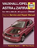 Vauxhall/Opel Astra and Zafira (Diesel) Service and Repair Manual (Haynes Service and Repair Manuals)