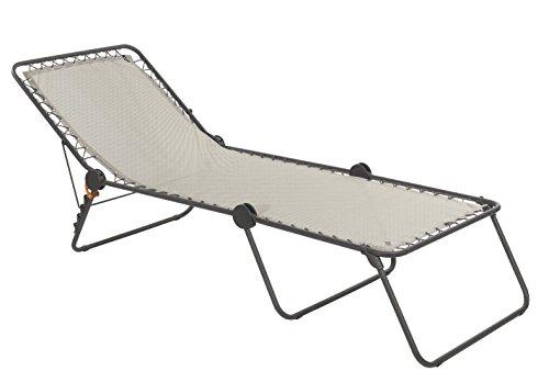 Sedia A Sdraio Classica Lafuma : Lafuma mobilier lfm sedia a sdraio siesta l beige