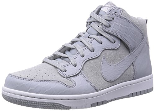 Nike Men's Dunk CMFT PRM Wolf Grey/White Casual Shoe 8.5 Men US