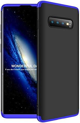 Funda para Samsung Galaxy S10 Plus S10+ con Plastico, AChris 3 en 1 Hard Caja Caso Skin Case Cover Carcasa Ultra Fina Anti-rasguños Choque Resistente Case [Compatible con Carga Inalámbrica]: Amazon.es: Electrónica