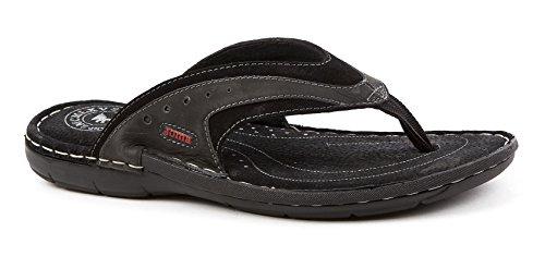 Joma S _ mareas _ 701Sandalias S. marea 701negro Shoe Spring Summer chanclas piel negro
