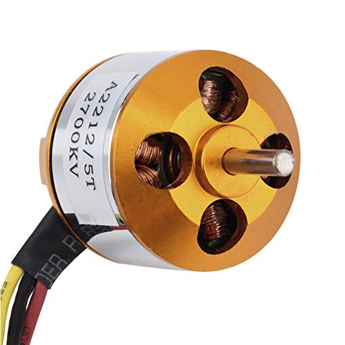 JPJ(TM)1Pcs Hot Fashion A2212 KV2700 Brushless Electric Motor for RC Fixed Wing 4-Axis Multicopter