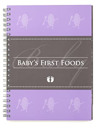 Glow Baby Babys First Foods Tracker Purple from Glow Baby