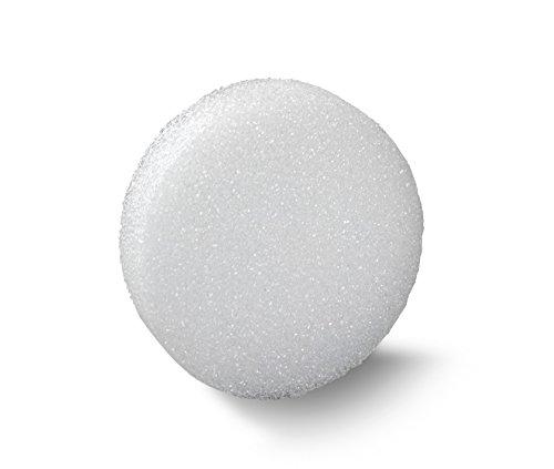 FloraCraft Styrofoam Disc 0.9 Inch x 9.8 Inch White