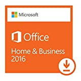 Software : Microsoft Office Home and Business 2016 | 1 user, PC Download
