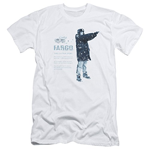Fargo Classic MGM Film This Is A True Story Marge & Gun Adult Slim T-Shirt - Men Sf Macys